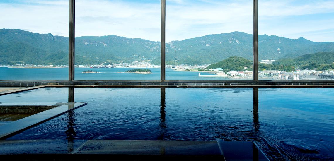 しょうどしま温泉 展望風呂(大浴場・露天風呂)
