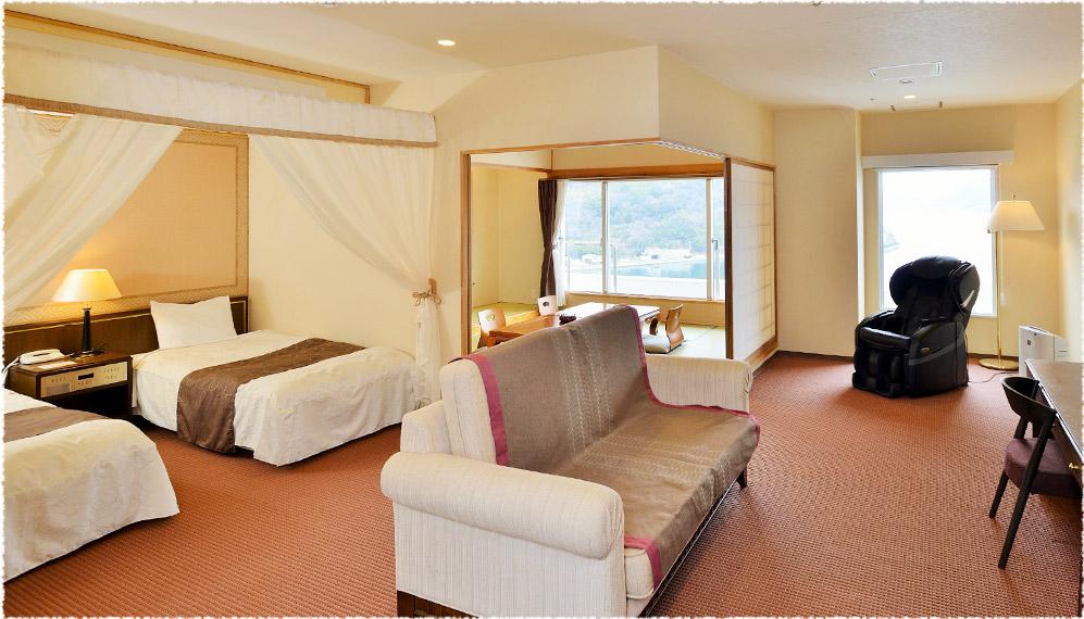 全室オーシャンビューのリゾートホテル、ベイリゾートホテル小豆島。